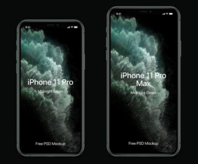 iPhone 11 Pro Mockup Set