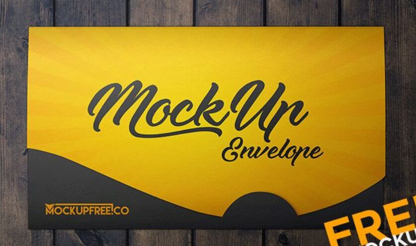 2 Sleek Envelope PSD Mockups