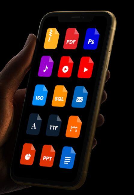 Filetypes Icon Set