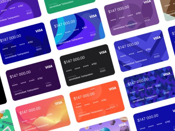 Bank Cards Pack Figma