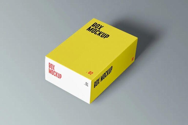 Product Boxes Mockup Set