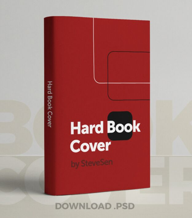 Book Cover PSD Download