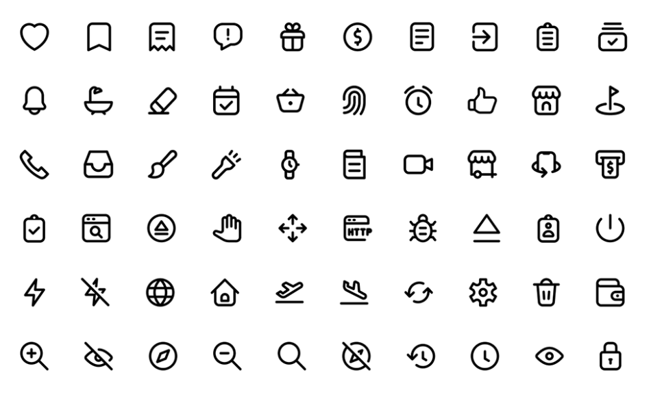 120 best free line stroke icon packs for ui ux design 2020 update 365 web resources 120 best free line stroke icon packs