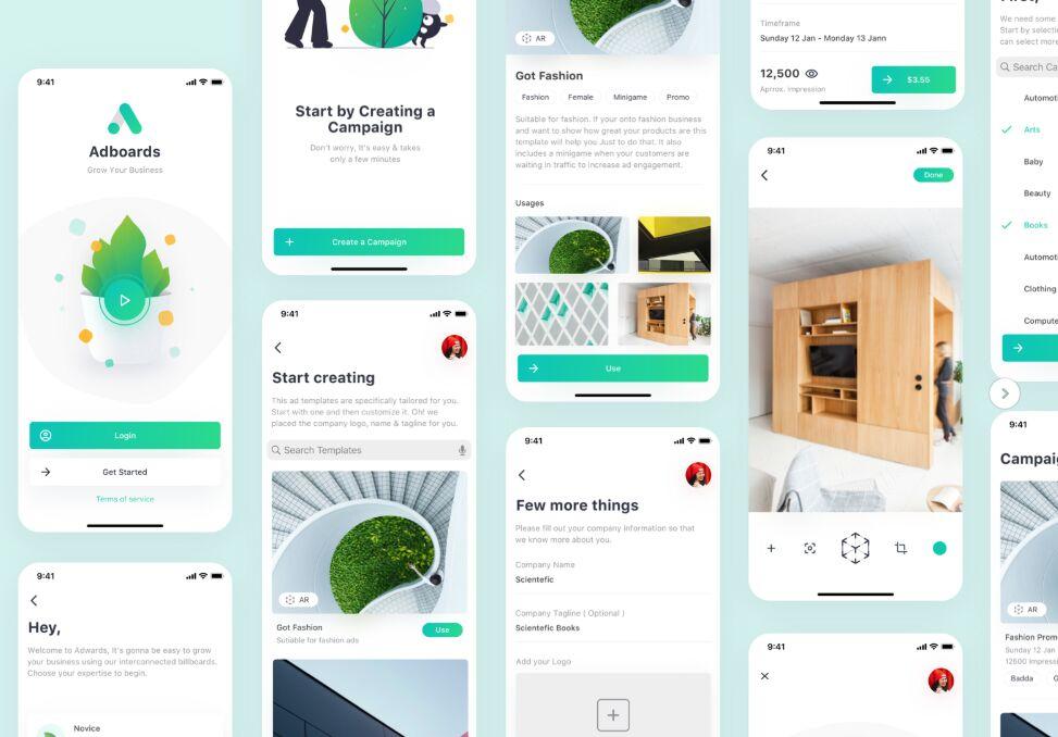 Adboards UI Concept