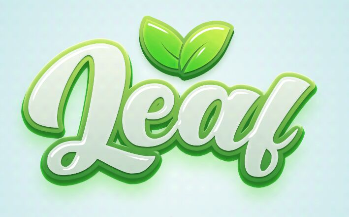 Leaf Text Effect