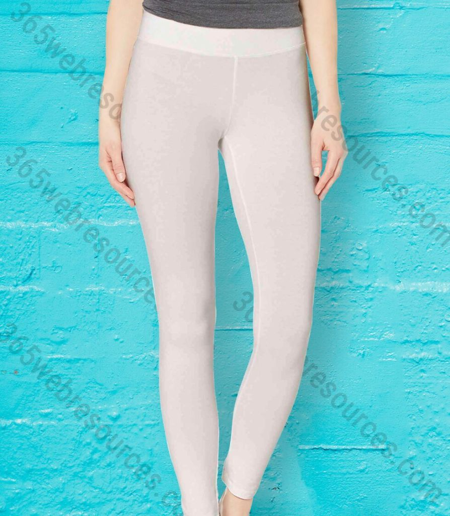 Realistic Women's Legging & Yoga Pants Without Pattern