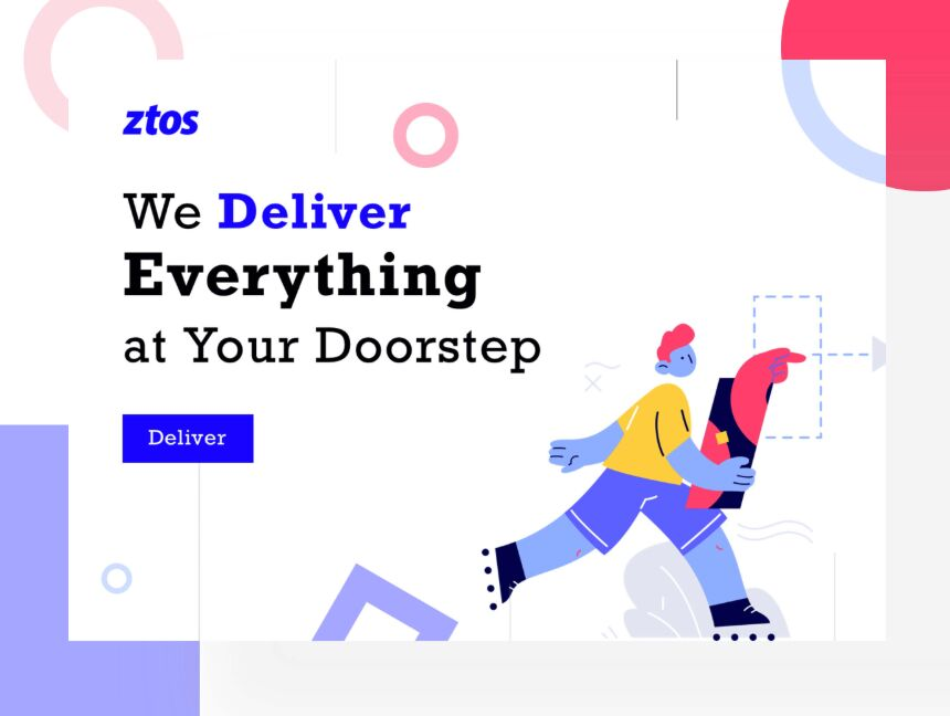 Ztos Landing Page Template