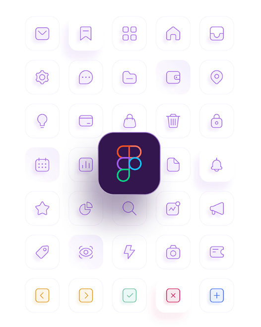 35 App Icons For Figma