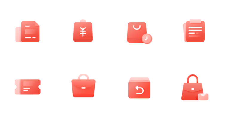 8 Minimal E-commerce Figma Icons
