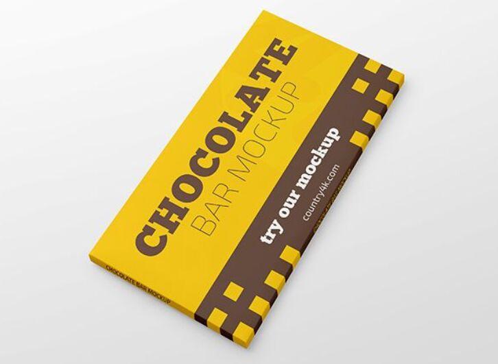 Free Chocolate Bar MockUp