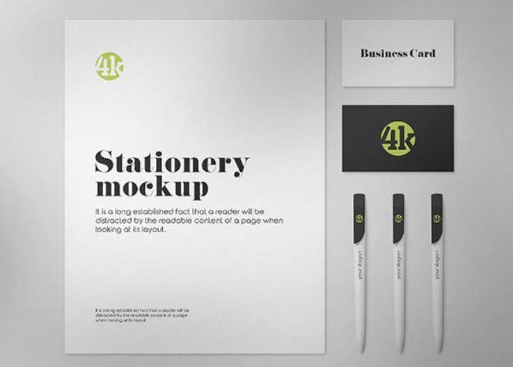 2 Free US Stationery Mockups