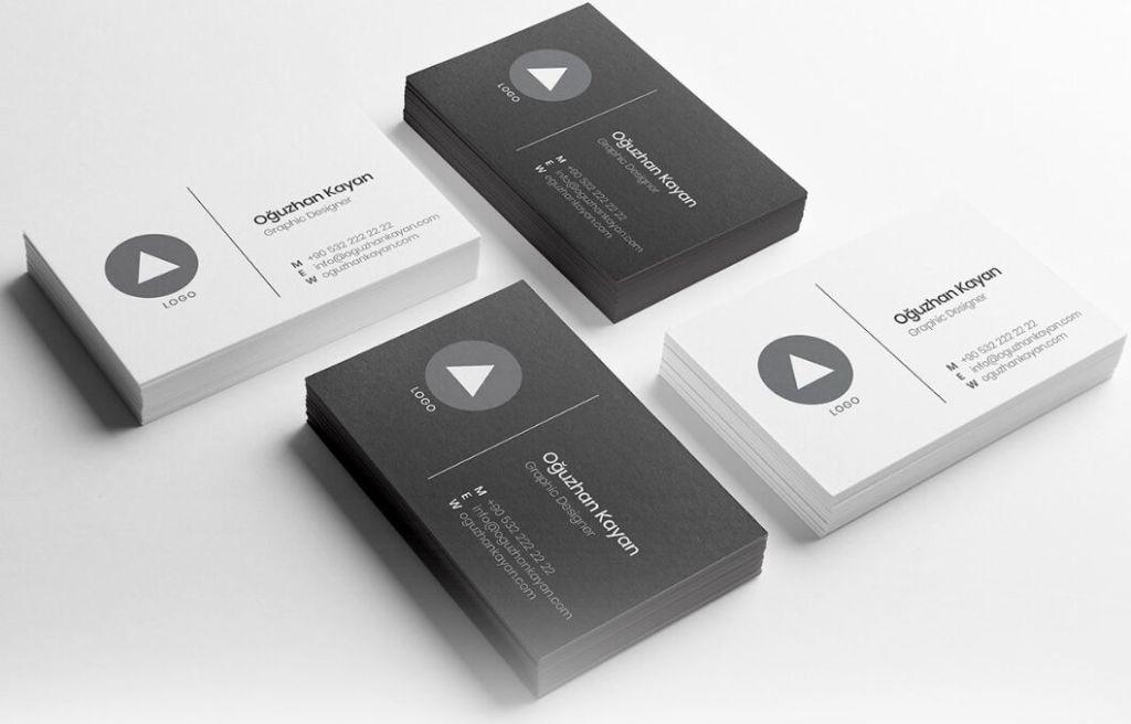 Minimal Business Card Template For Adobe Illustrator