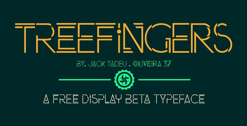 Treefingers Font