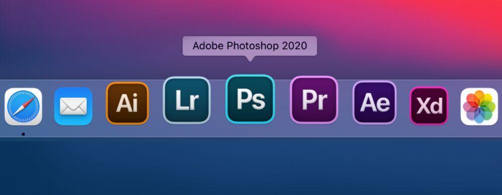 Adobe Icons for macOS Big Sur
