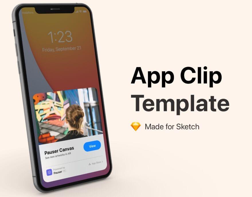 App Clip Template