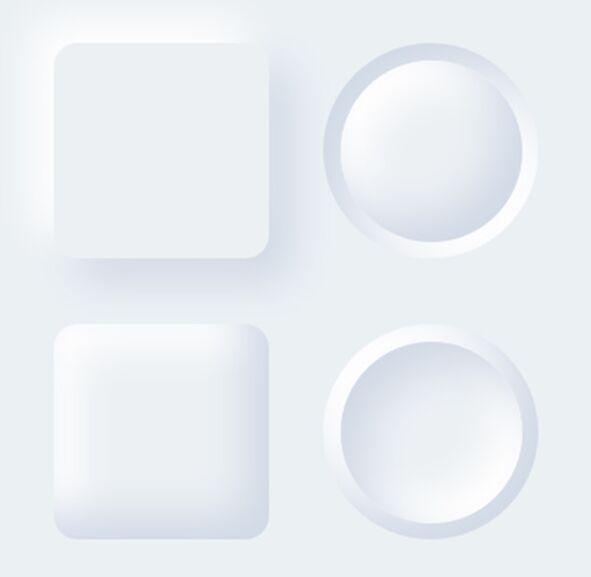 Neumorphism Button Kit
