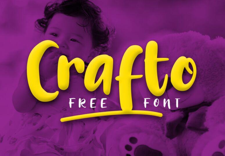 Crafto Free Font