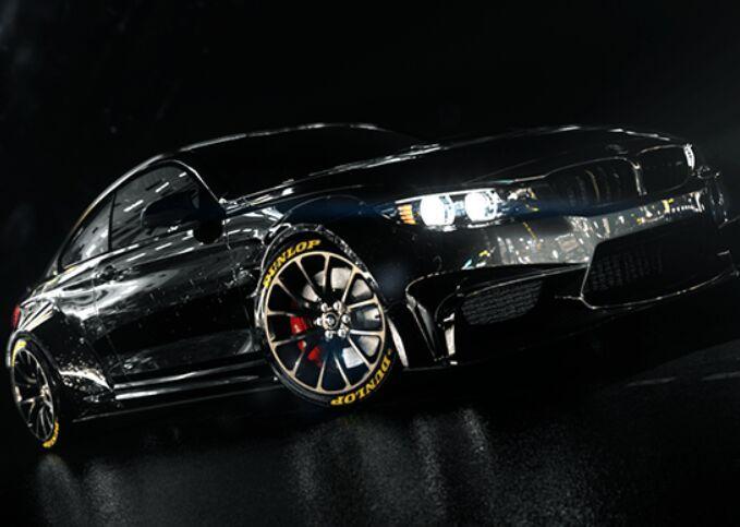 BMW M4 Black Night 3D Model