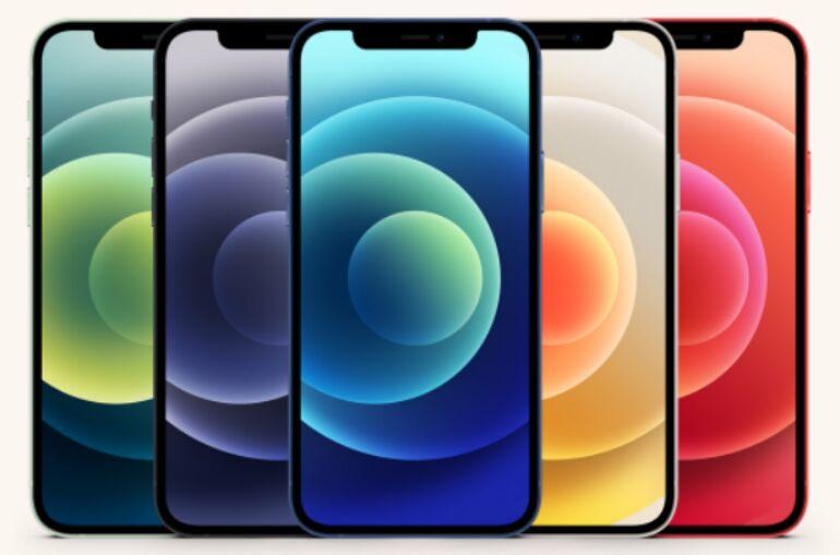 iPhone 12 Mockup Set (PSD)