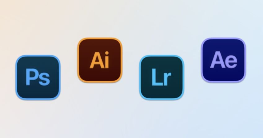 Adobe Icons For Big Sur
