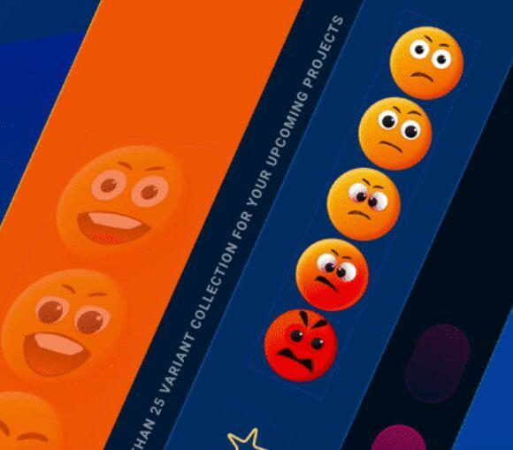 Emoji Figma Variants-Download Free