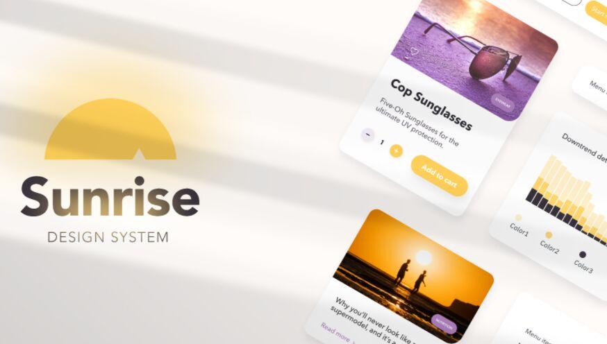 Figma Design System Sunrise