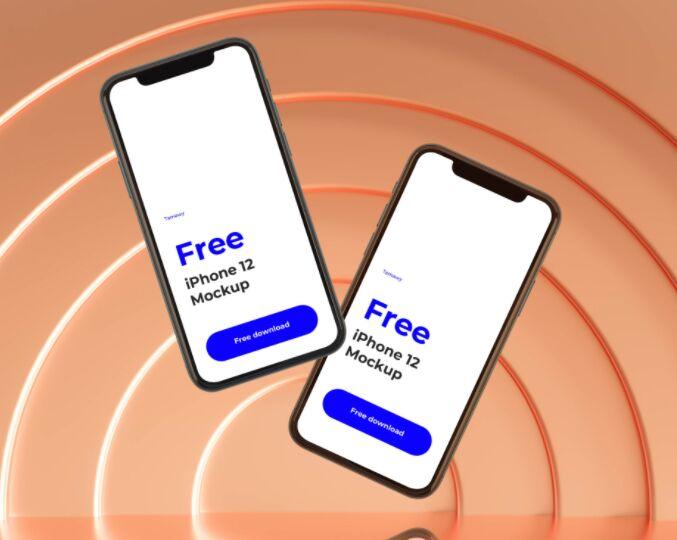 Tamawy Free iPhone 12 Mockup