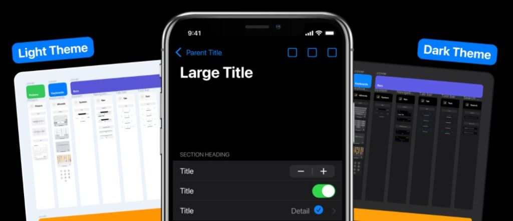 iOS 14 Design Project Template