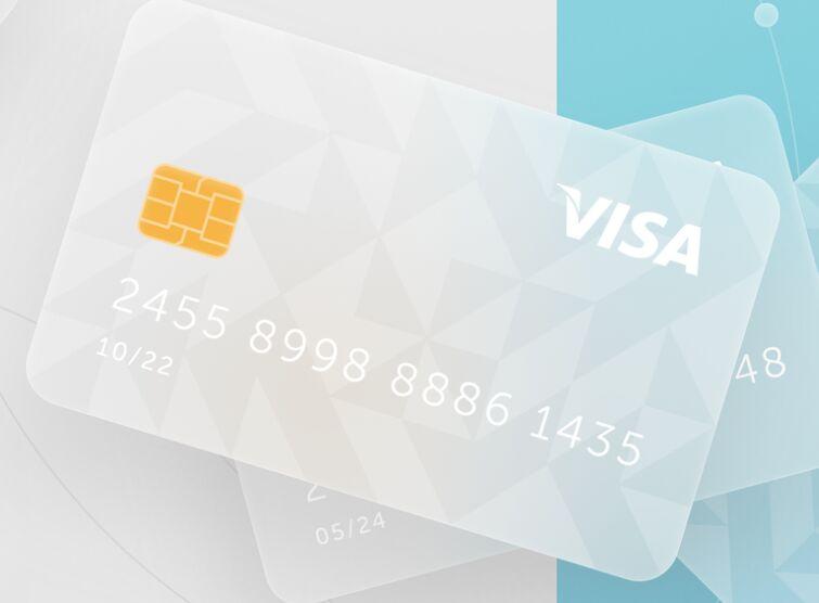 Bank Card Free Figma Template Glassmorphism