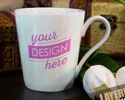 PSD Mockup Mug Cup Template