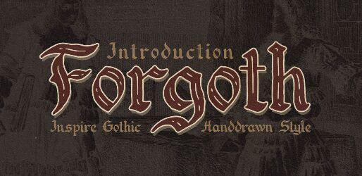 FORGOTH Font