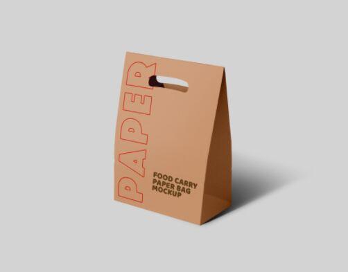 Paper Carry Bag Mockup