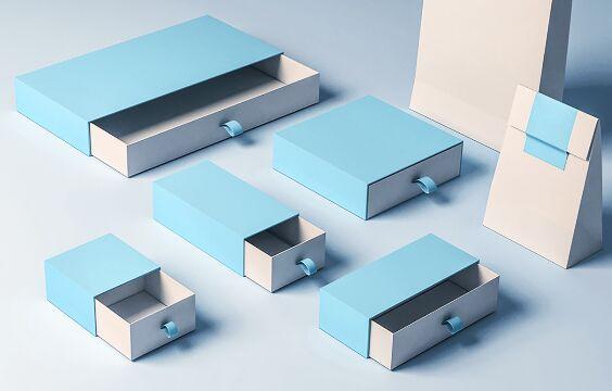 Sleeve Box Mockup PSD