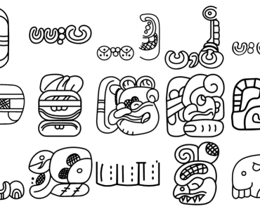 1000+ Mayan Hieroglyph SVG Icons For Free Download