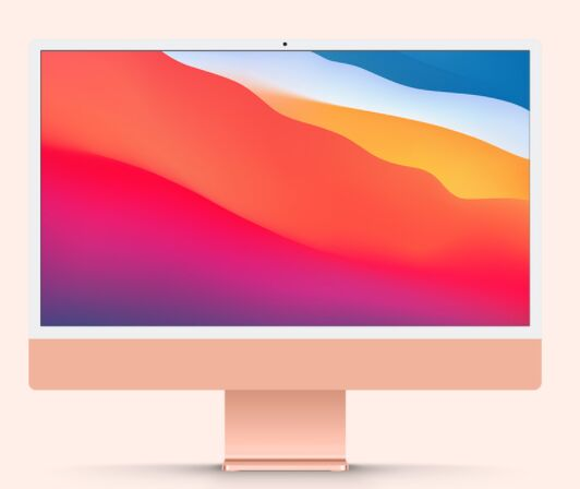 The brand new iMac 2021 mockups