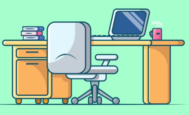 Work Space illustrations Free Download