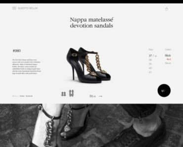 Product Page Design Mockup
