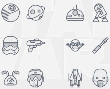 24 Starwars Icons Pack
