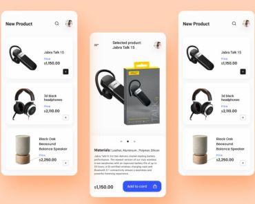 Ecommerce App UI Design