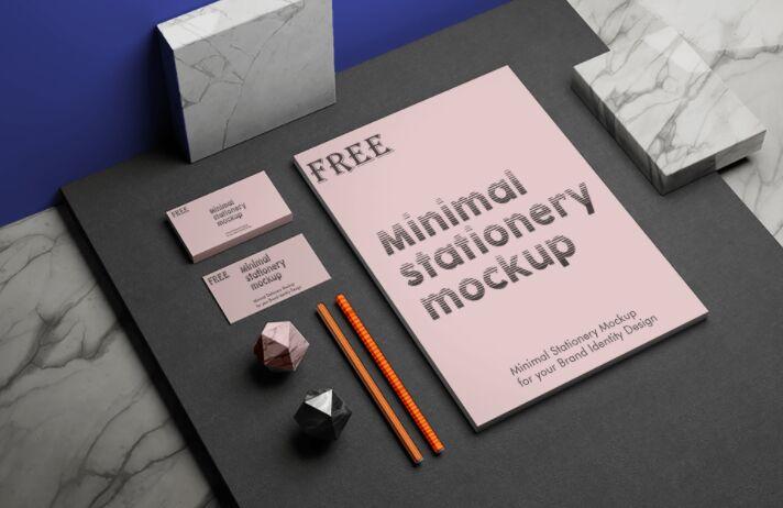 Minimal Stationery Mockups