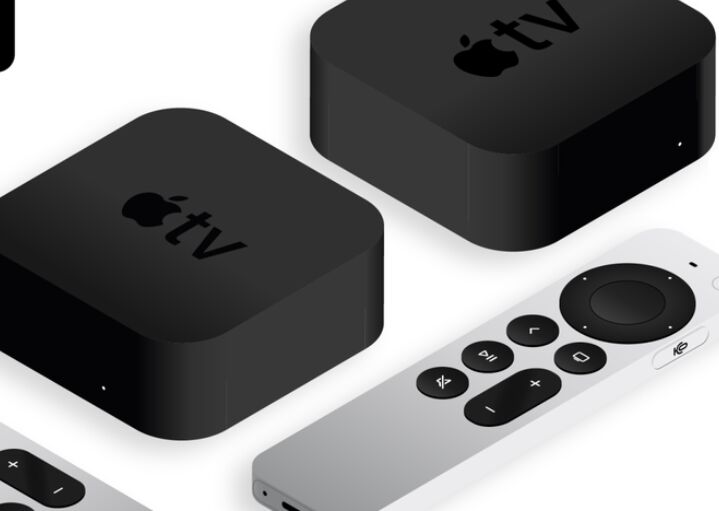 New Apple TV 4K 2021 Mockups & Icons
