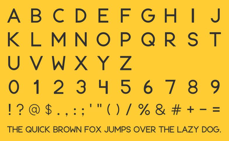 Cortisa Pro Sans Serif Typeface