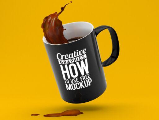 Creative Coffee Mug Mockup