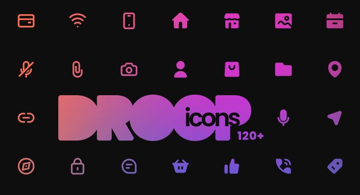 DROOP Icons Free