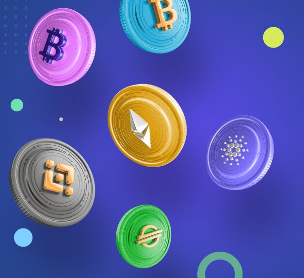 Free 3d Crypto Coins