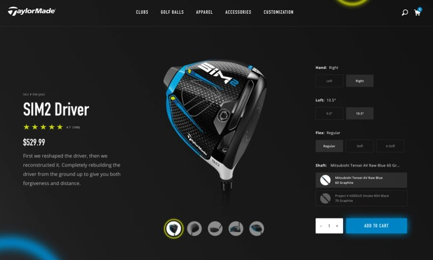 Taylormade Concept Redesign