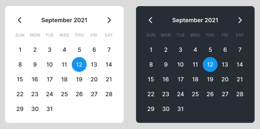 Free Calendar UI (Figma)