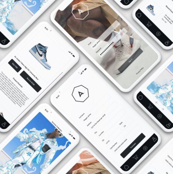 Free Figma UI Kit for a Shopping App