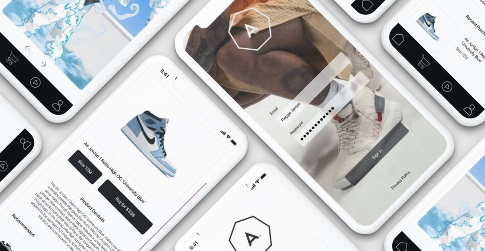 Shopping App UI Kit Figma