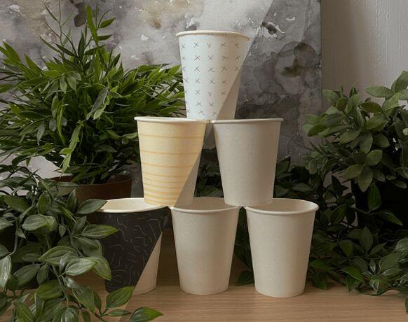 Six Cups Mockup Free